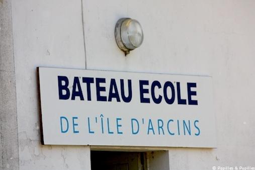 Bateau école de l'île d'Arcins