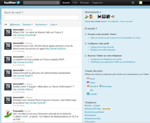 Fil Twitter exemple