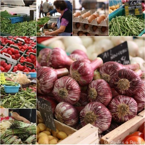 Marché de Cannes - Fruits et légumes