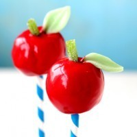 An apple a day cake pops
