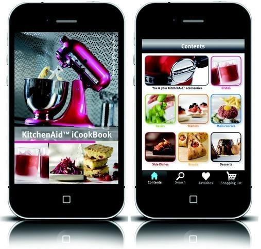 Kitchenaid Lance Sa Propre Application Pour Iphone Ipod Et Ipad