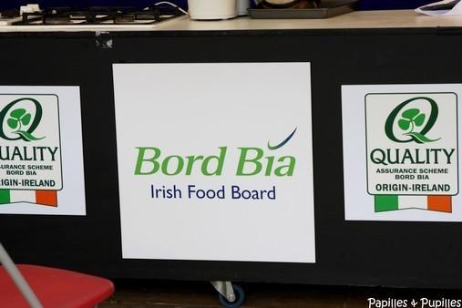 Bord Bia qui aide au développement et à la promotion des produits agro alimentaires irlandais
