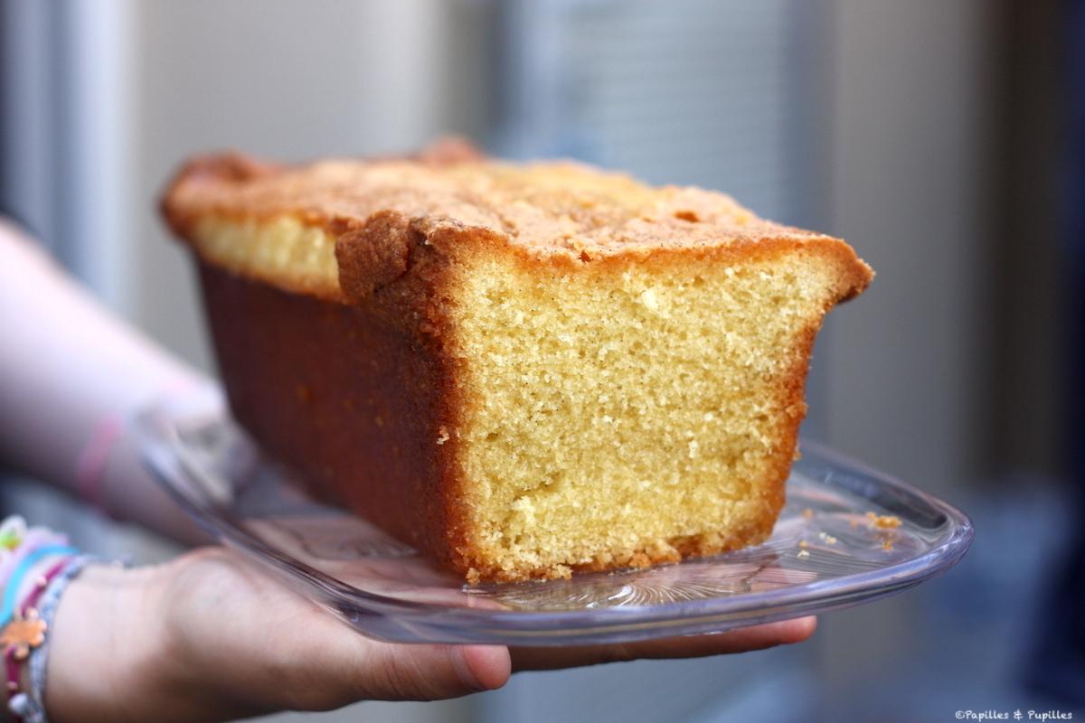 Cake aux 3 vanilles