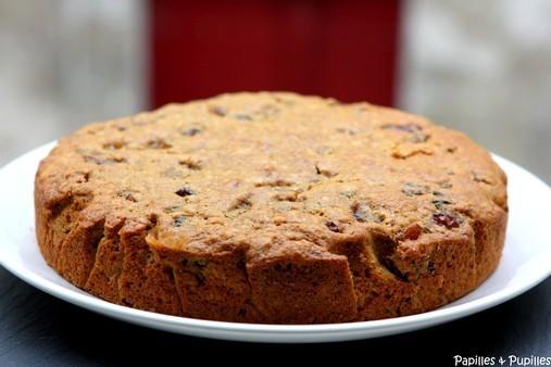 Gâteau au poivre et aux raisins