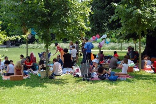 Pique nique Parc Bordelais