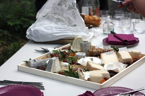 Plateau de fromages de chèvre