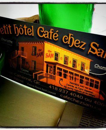 Le petit hôtel café chez Sam, Baie Sainte Catherine, Quebec