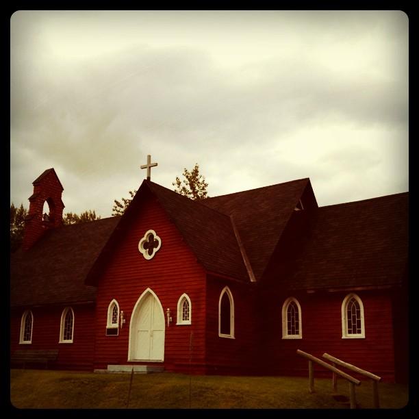 Petite Eglise en bois, Cap à l aigle, Quebec