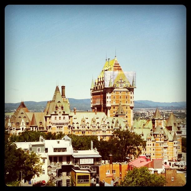 Québec, vue de la citadelle