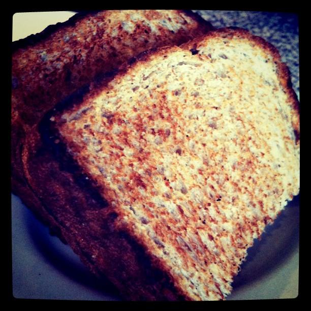 Non ce ne sont pas des toasts mais des rôties de pain de ménage ;)