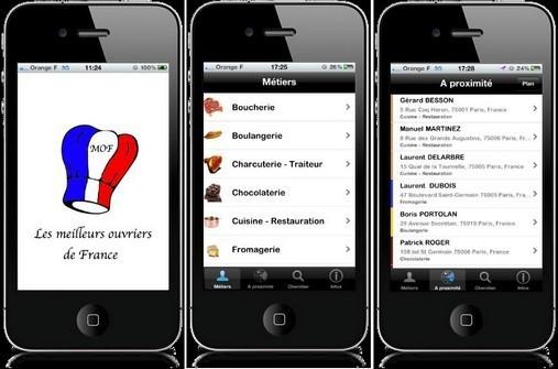 Application Iphone MOF