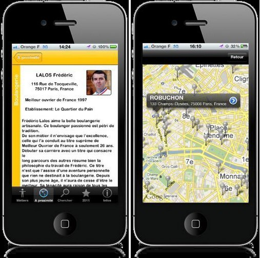 Application iphone gratuite pour rencontre