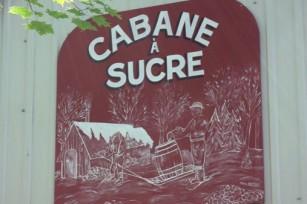 Cabane à sucre, île d'Orléans