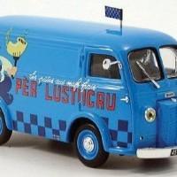 Camion bleu Lustucru