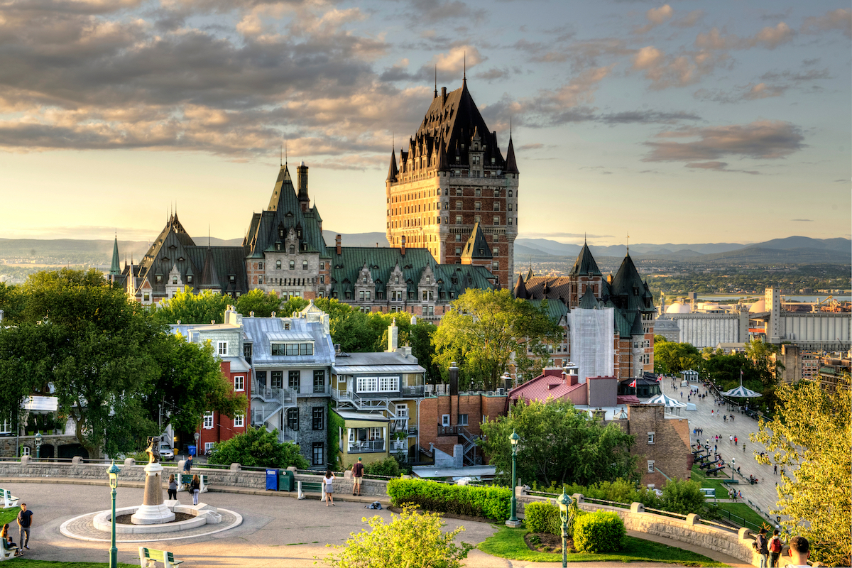 Château Frontenac - Québec ©Lopolo shutterstock