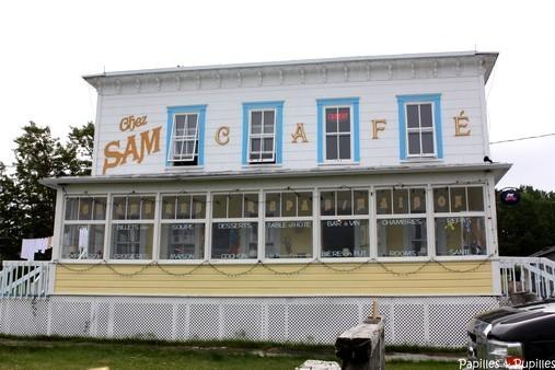 Chez Sam - Baie Sainte Catherine, Québec