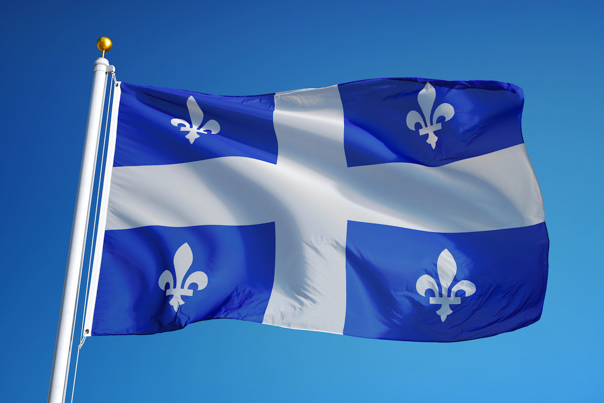 Drapeau Québec ©railway fx shutterstock