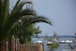 Vue sur le Bassin depuis le village de l'Herbe