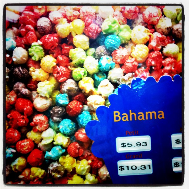 Popcorn saveur Bahama