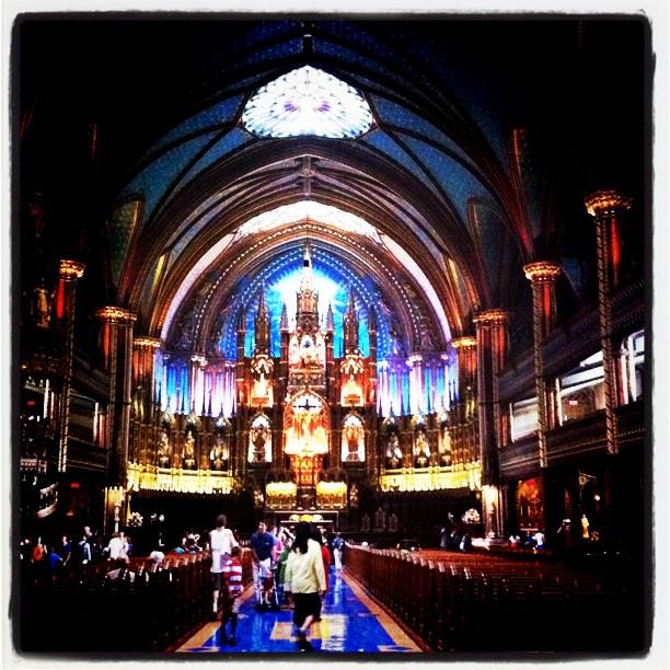 Basilique Notre Dame, Montreal, époustouflante