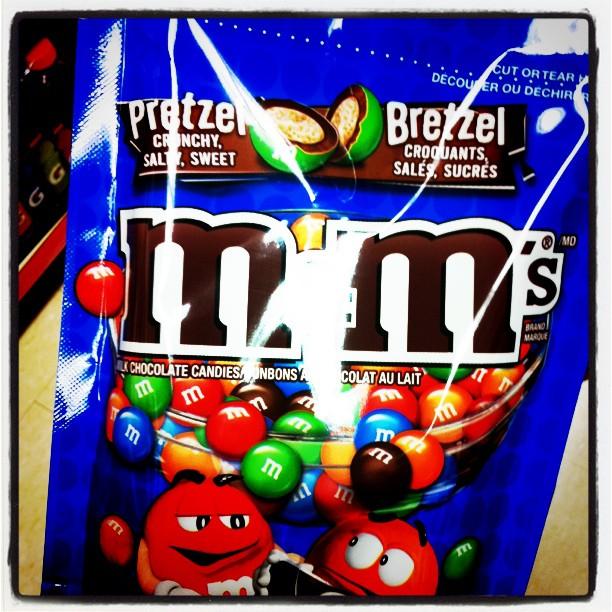 M&M'S goût bretzel ^_^