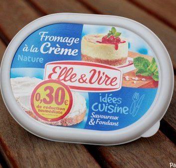 Fromage à la crème Elle & Vire nature