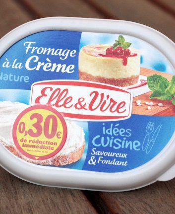 Fromage à la crème Elle & Vire