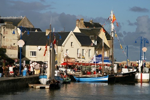 Goût du Large - Port en Bessin - Crédits OTI Bayeux