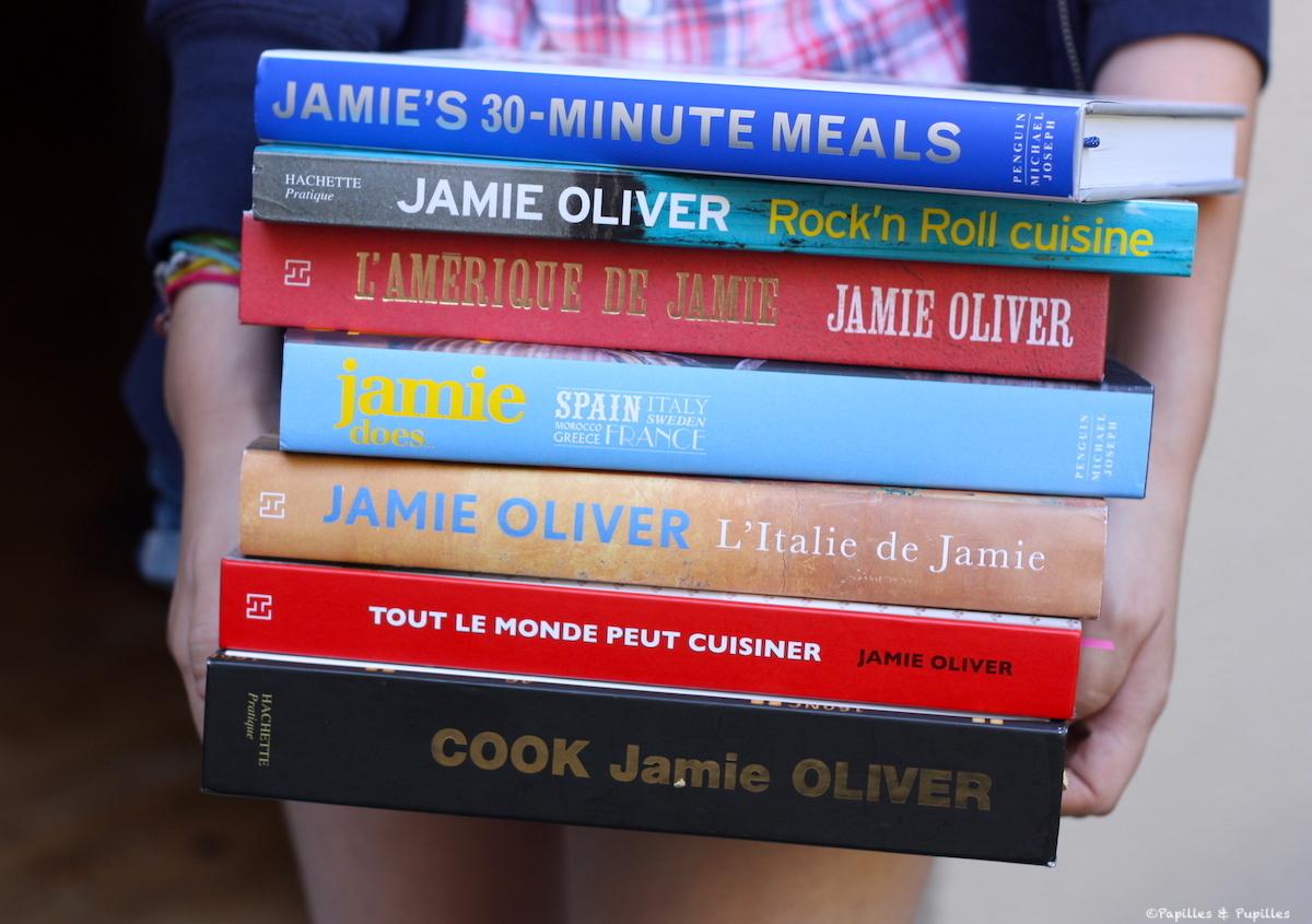 Jamie Oliver- Livres