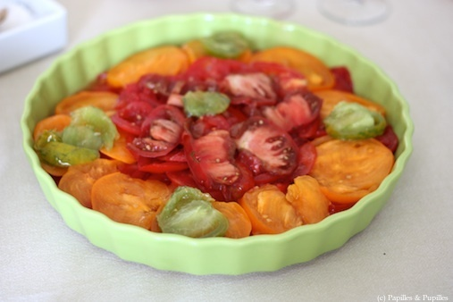 Salade de tomates