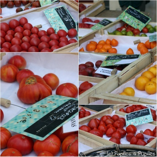 Tomates anciennes - Différentes variétés