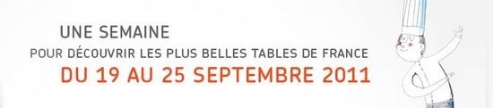 Une semaine pour découvrir les plus belles tables de France