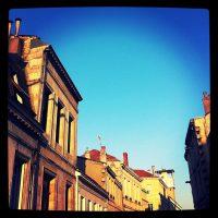 Grand beau temps ce matin à Bordeaux ! Bonne journée