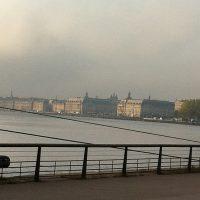From Bordeaux with love - lever de soleil, la brume se déchire avant le grand beau temps - Les quais