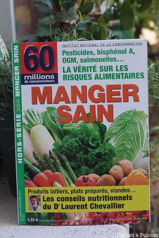 60 millions de consommateurs - Manger Sain