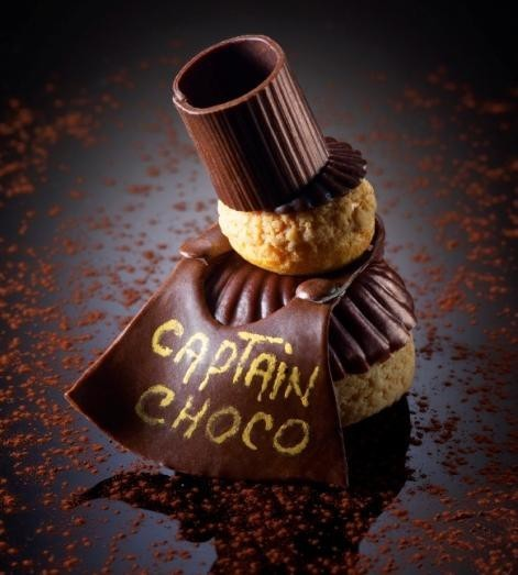 Religieuse Captain Choco - Christophe Michalak
