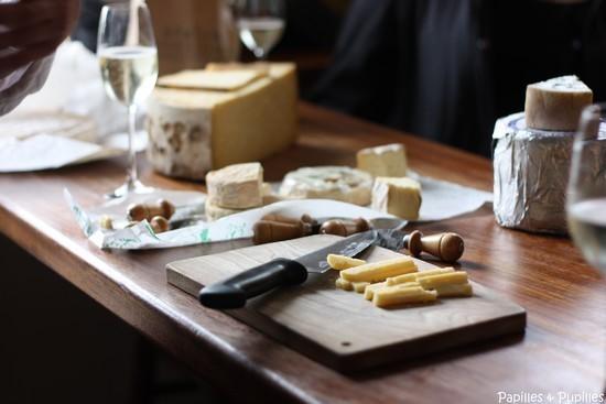 Dégustation de fromages