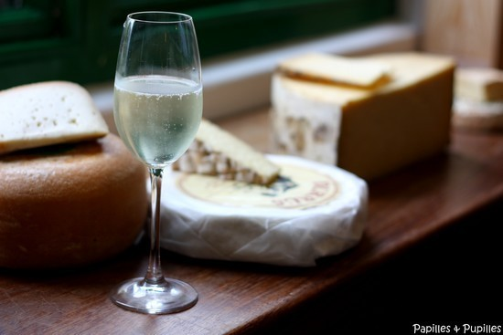 Prosecco et fromages