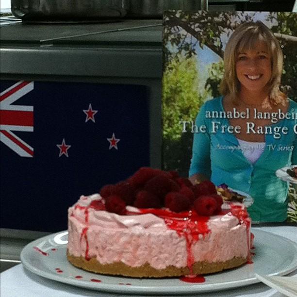 Cheesecake à la meringue et fraises #FB