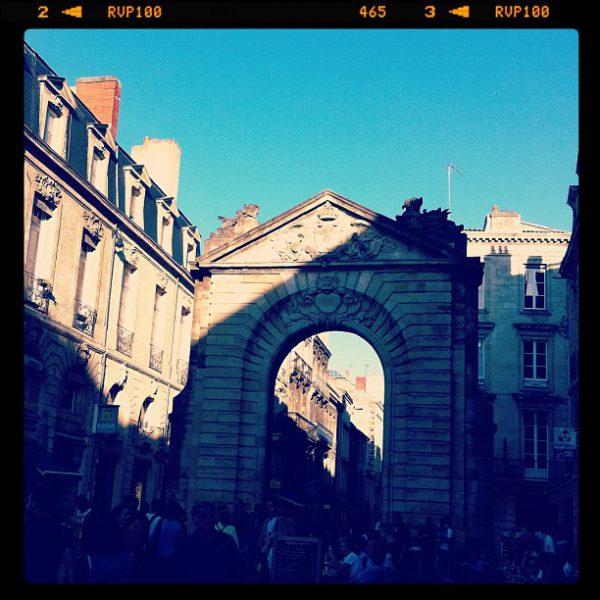 From Bordeaux with love - rue Porte Dijeaux