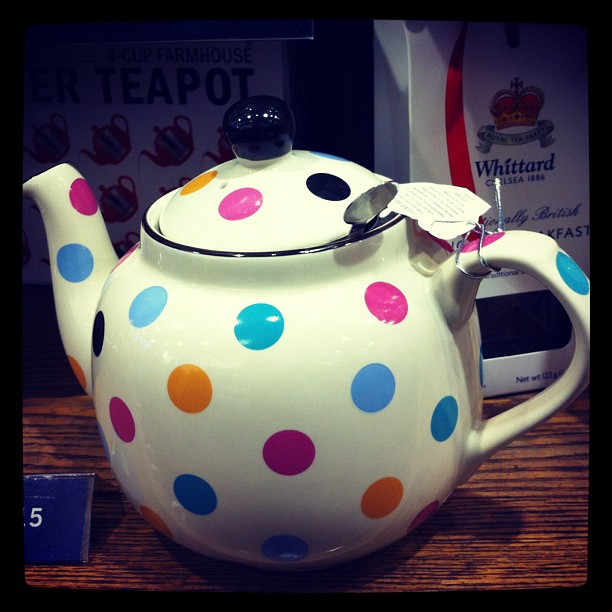 Tea pot I like ;) #london