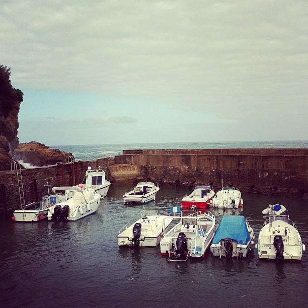 Le petit port, Biarritz