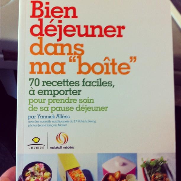 Pour bien manger à l'heure du déjeuner #YannickAlleno