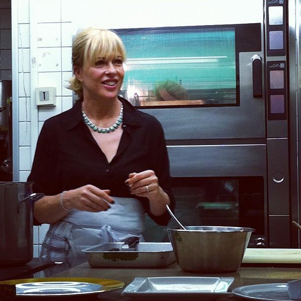 Annabel Langbeim en cuisine à l'Ecole du Cordon Bleu #FP