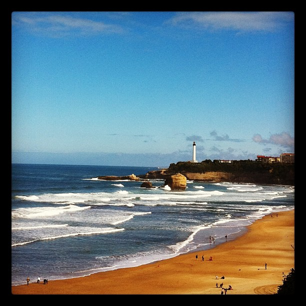 From Biarritz with love #fb