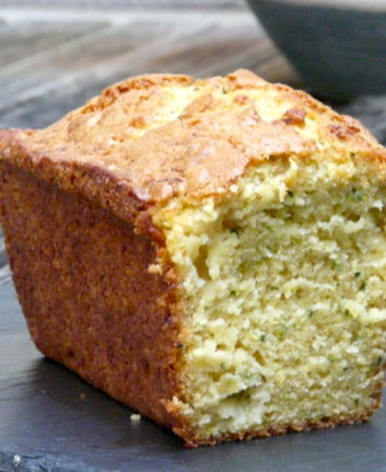 Cake courgette ananas