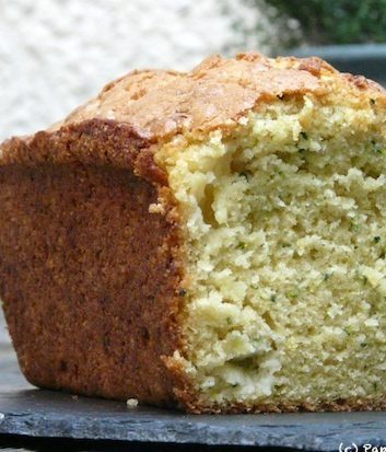 Cake courgettes ananas citron