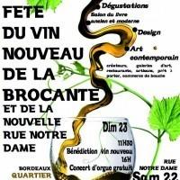 Fête du vin nouveau et de la brocante 2011 Bordeaux