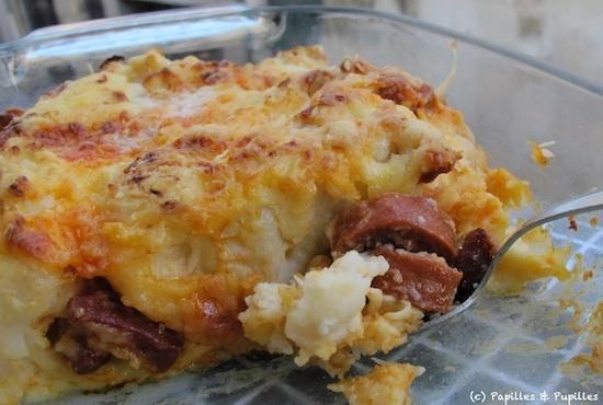 Gratin de chou fleur au mascarpone et moutarde - Choux de bruxelles recette gratin ...