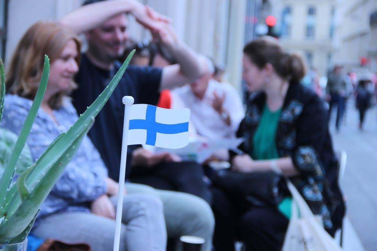 Les Finlandais passent à table